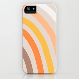 Rainbow State of Mind - earthy iPhone Case