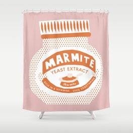 Marmite Shower Curtain