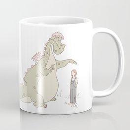 A Boy and His Dragon Coffee Mug