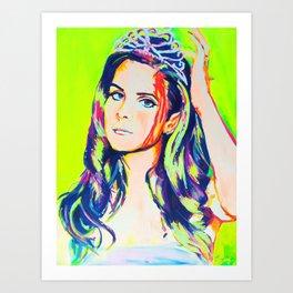 Pop Princess Art Print