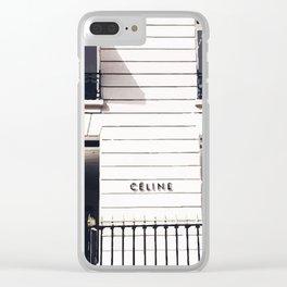 Boutique Clear iPhone Case