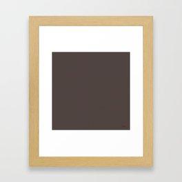 """""""Porstroke Taupe (Pattern)"""" Framed Art Print"""