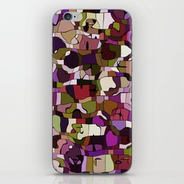 Abstract animals iPhone Skin