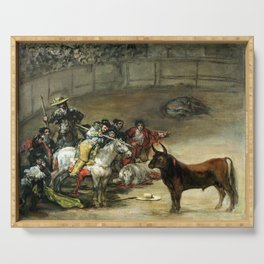 Francisco de Goya Bullfight, Suerte de Varas Serving Tray