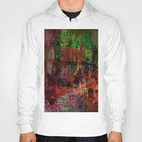 brussels Hoodies featuring Quartier des Marolles ( Brussels ) by Ganech joe