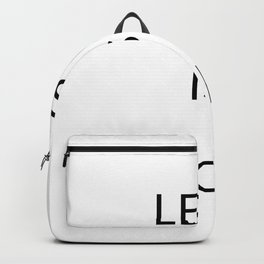 Less is more Backpack