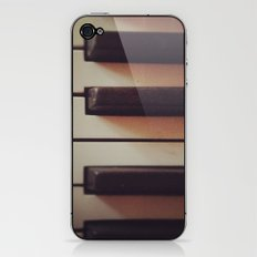 Vintage Piano iPhone & iPod Skin