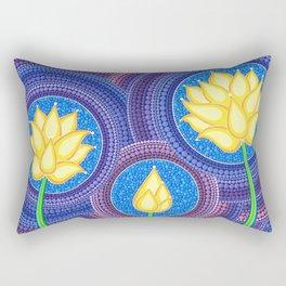 Dreamy Lotus Family Rectangular Pillow