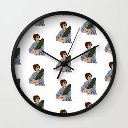 Michael Cera & the Magical Cactus Wall Clock