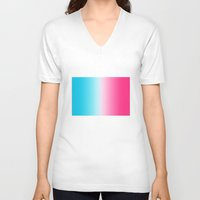 france V-neck T-shirts featuring France by Sangho Lee