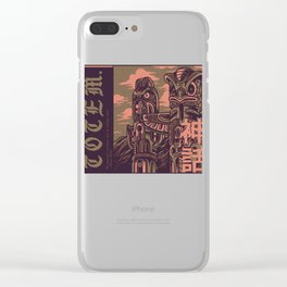 Totem Syndicate Clear iPhone Case