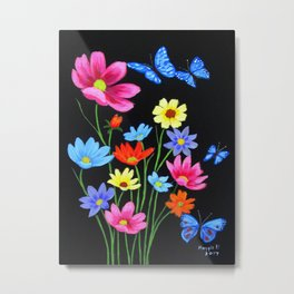 Wildflowers-3 Metal Print