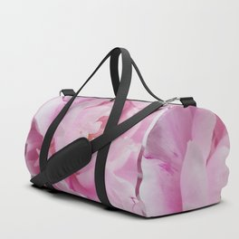 Floral Fun - Peony in pink 4 soft and billowy Duffle Bag