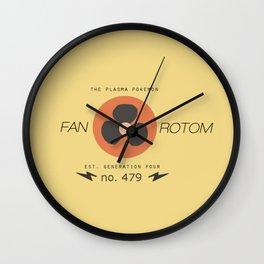 Rotom (Fan) Wall Clock