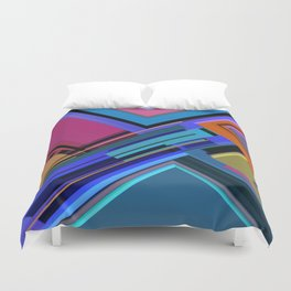 Abstract Composition 611 Duvet Cover