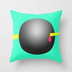 Skewer Sphere Throw Pillow