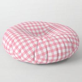 Pink Gingham Floor Pillow