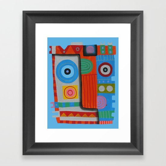 Your self portrait Framed Art Print