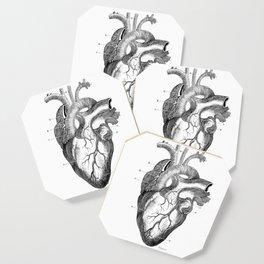 Anatomic hearth engraving Coaster