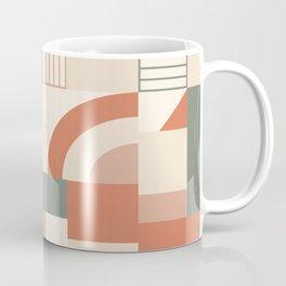Earthy Blocks Coffee Mug