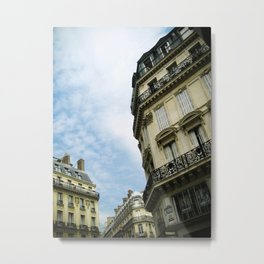 Looking Up in Paris  Metal Print