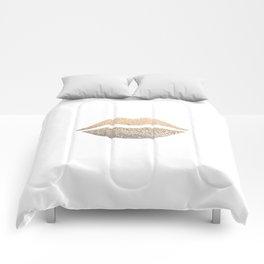 GOLD LIPS Comforters