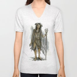 death fey Unisex V-Neck
