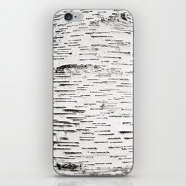 White Birch iPhone Skin