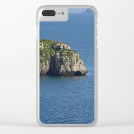Cave of Spain Clear iPhone Case