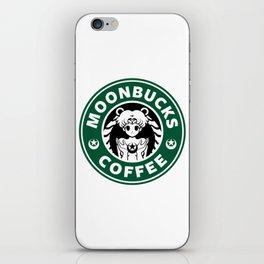 Moonbucks Coffee iPhone Skin