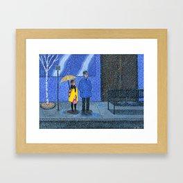 Rainy Framed Art Print