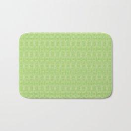 hopscotch-hex bright green Bath Mat