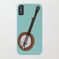 banjo iPhone & iPod Cases featuring Banjo by Illustrated by Jenny