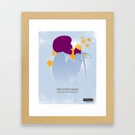 The Funk Train Framed Art Print