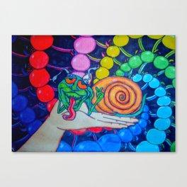 Snailin Canvas Print