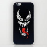 venom iPhone & iPod Skins featuring Venom by WaXaVeJu