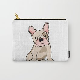 Cute pug illustration Carry-All Pouch