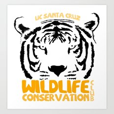 Wildlife Conservation Club Art Print