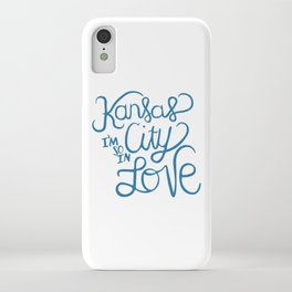 Kansas City I'm So In Love iPhone Case