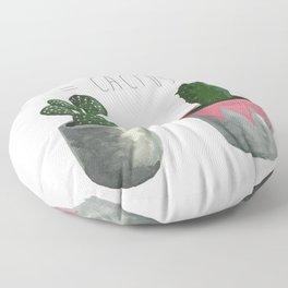 Cactu + Cacti = Cactus Floor Pillow