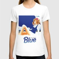 hentai T-shirts featuring blue 1 by yougo