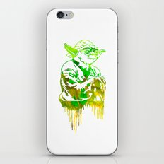 Yoda Print iPhone & iPod Skin