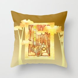 Steam Legacy Throw Pillow
