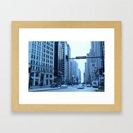 Chicago Focus Framed Art Print