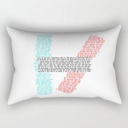 21 Pillots Lyric Rectangular Pillow