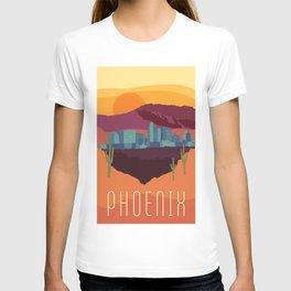 City Series - #Phoenix #Arizona #Travel #Poster T-shirt