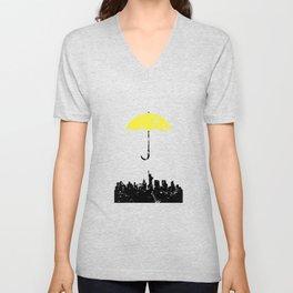 Looking for my Yellow Umbrella Unisex V-Neck