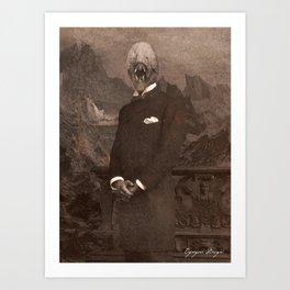 Dark Victorian Portrait: The Other Art Print
