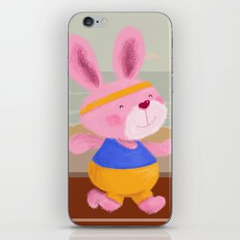 Bunny Runner iPhone Skin