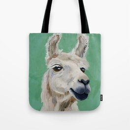 Fluffy White Wise One Tote Bag